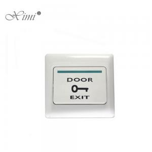 China Plastic Door Exit Push Button , Push To Exit Switch For All Kinds Doors on sale