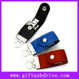 China Hot selling leather usb drive with customized logo/512MB/1G/2G/4G/8G/16G flash usb disk on sale