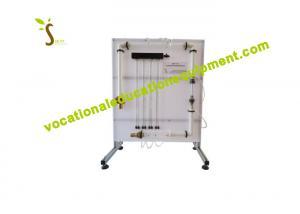 China Flow Meter Demonstration Fluid Mechanics Laboratory Apparatus / Hydraulic Trainer Kit on sale