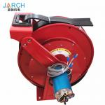 Cable Drums Retractable Hose Reel 32 Amp 3 Phase Cable Spring Loaded With CAT 6 / 2.5mm