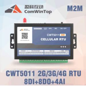 China CWT5011 Cellular wireless RTU, gsm sms 3G data acquisition system, 4-20ma controller, gsm 3G 4G remote control system on sale