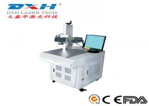China Lightweight Cell Phone Case Engraving Machine , Wafer Laser Marking System on sale