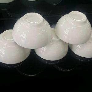 China Dinnerware wholesale cheap white ceramic bowl for rice soup on sale