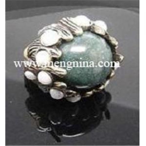 China Charm Semi-precious stone Ring on sale