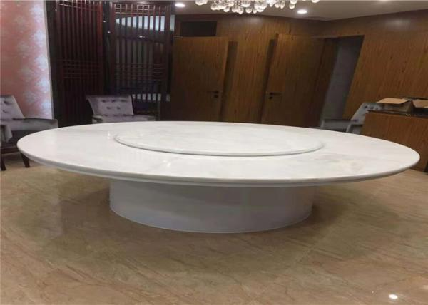 Natural Translucent White Onyx Round Marble Table Top For