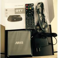 Original M8S 2G/8G Dual band 2.4G/5G wifi Android 4.4 Amlogic S812 tv box support OEM ODM