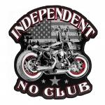 Sew On Motorcycle Biker Patch