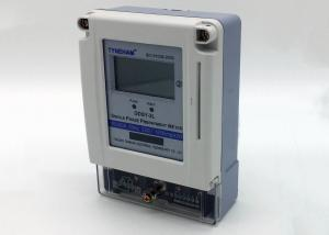 China High Accuracy Single Phase Prepaid Energy Meter For Intelligent Building on sale
