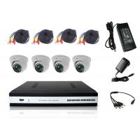 China VGA / HDMI Video Out 4 Channel DVR Kit DVR Home Security System With AHD Dome Camera on sale