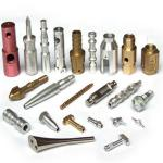 OEM turning and milling brass and aluminum  part Chinese supplier