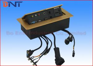 China オフィス用家具のデスクトップの電力ソケットは30cm接続されたワイヤーと現れます on sale