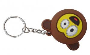 China Freeuni Eco-Friendly Promotional 3D soft pvc keychain and cute key ring for Bag Accesories on sale