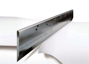 China high speed steel inlay polar paper cutting machine guillotine knife on sale
