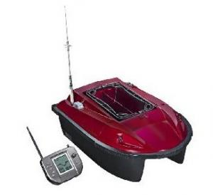 China Plastic Intelligent Remote Control Bait Boat with GPS, Large LCD, Sonar Type Fish Finder on sale