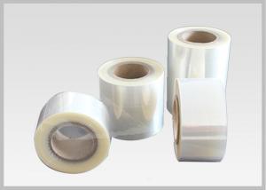 China 50% Heat Shrinkable PVC Sleeves Shrink Film Rolls For Tamper Proof Shrink Seals on sale