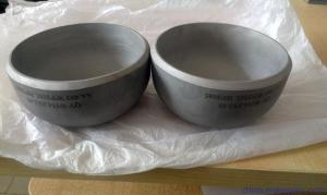 China Pressure Cap Pipe Fittings Vessel Stainless Steel End Caps For Pipes on sale