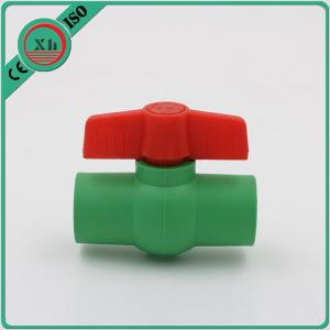 China Multipurpose Plastic Ball Valves And Fittings Smooth Internal Surface on sale