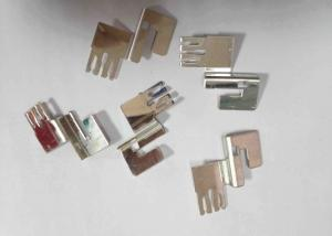 China Phosphor Bronze Sheet Metal Stamping Die Components For Dashboard Fuse Box on sale