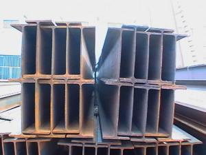 China El haz de acero laminado en caliente de GR50 GR55, I/haz de H secciona estándar de ASTM on sale