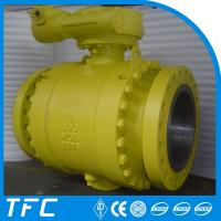 double flanged carbon steel gas ball valve