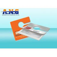 Custom Rearview Mirror UHF Rfid Hang Tag Small for  Parking Management