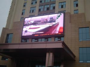 China 10000dot / ㎡ IP65 Outdoor 10mm LED Display Screen For Advertising , SDI / HDSDI on sale