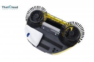 China 3 In 1 Automatic Spin Brush Broom Aluminium Telescopic Handle on sale