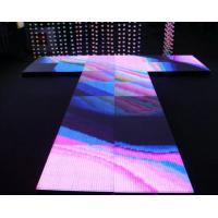 Advertising Stage Dance Floor LED Display / LED Light Up Dance Floor Hire