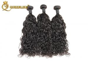 """China Full Head 18"""" Machine Weft Hand Tied Human Hair Weave Salon Hair Extensions on sale"""