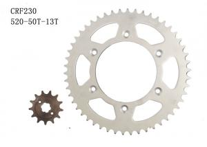 China 520-50t-13t Motorcycle Chain Sprocket , HONDA CRF230 Custom Motorcycle Sprockets on sale