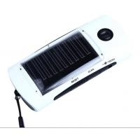 China solar power Accessories,Solar Power Bank Battery Charger,Universal Solar Power Bank Charger 4-LED Flashlight FM Radio on sale