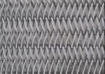 316L Balanced Weave Conveyor Belts , Spiral Mesh Belt For Ham Sausage Freezen