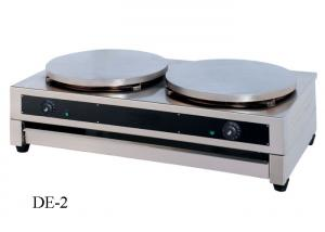China 400 mm Restaurant Cooking Equipment Single Or Double Head Commercial Crepe Machine on sale