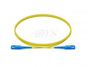 Quality Cabo de remendo 3.0mm Singlemode simples da fibra óptica do SC da tabela de preços do cabo de remendo for sale