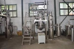 China Traditional Herb Extraction Equipment Operated Low Temperature 60 - 80°C on sale