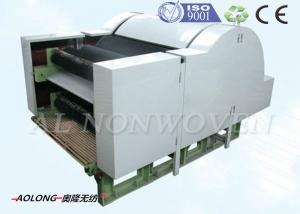 China Máquina de cardado no tejida de la fibra de la algodón con el solo doble Doffers del cilindro on sale