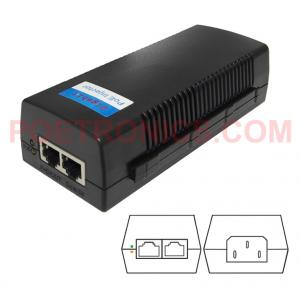 China POE-PSE01M 10/100Mbps 24W Passive POE Injector Power pin 4,5+ 7,8- by POETRONICS on sale