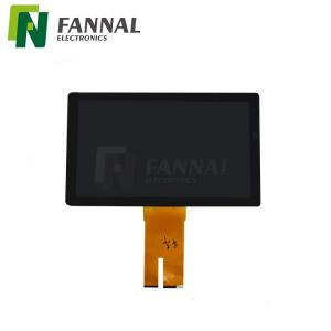 China 15.6  touch panels suppliers big size lvds display for industrial hmi compatible with gloves and thick cover glass on sale