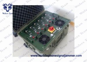 China High Power Vehicle Jammer Shockproof WIFI / Cell Phone Multi Band Jammer on sale