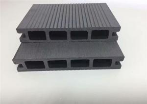 China Outdoor Vinyl Wood Plastic Composite Flooring / Decking Hollow Composite Wood on sale
