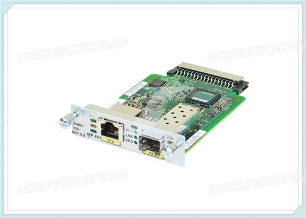 EHWIC-1GE-SFP-CU High - Speed Cisco Optical Transceiver WAN