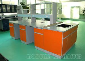 China All Steel Structure Dental Laboratory Bench Pedetal Lab Balance Table on sale