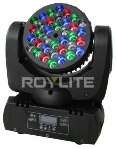 China Mac 101 36 x 3w RGBW Led Moving Head Light Beam Angle 8 For Stage Lights on sale