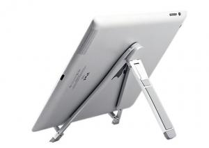 China Portable Ipad Stand Holder Mount , Aluminum Foldable , Tablet PC Car Holder Mount on sale