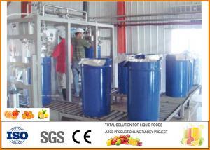 China Food Grade Small Orange Juice Production Line ISO9001 on sale