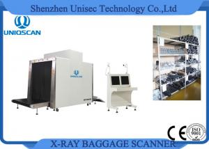 China Security Airport Baggage Checking X Ray Luggage Scanner With Dual Energy Generator on sale