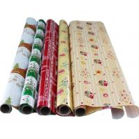 70cm*200cm Luxury Custom Christmas 60gsm LWC Paper Wrapping Paper Roll