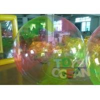 Huge Colorful Children Inflatable Walking Ball Waterproof For Extrior