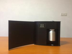 China 1000CBM Wall Mounted Metal  Commercial Aroma Diffuser DC12V 15w on sale