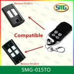 SMG-015TO Compatible Garage Door Rolling Code Bennica 433MHz Wireless Remote Control